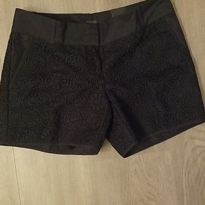 """NWT 5"""" inseam navy tailored shorts"""